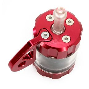 Powerstands Racing Red/Transparent Clutch Reservior - 00-01807-24