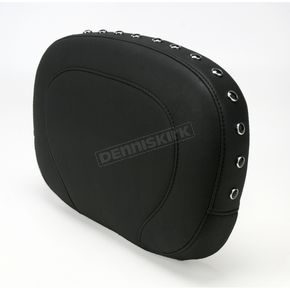 Mustang Seats 14 in. Wide Smooth Passenger Back Pad w/Black Studs - 76571