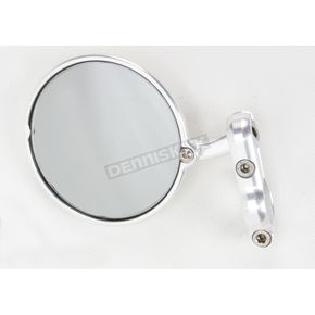 Constructors Racing Group Silver Hindsight Bar End Mirror - HS-201-L