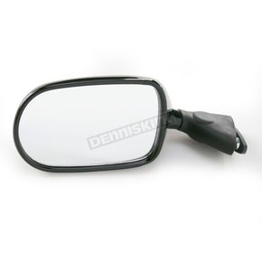 Emgo Black OEM Rectangular Mirror - 20-55202