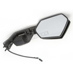 Emgo Black OEM Rectangular Mirror - 20-97251