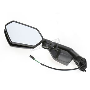 Emgo Black OEM Rectangular Mirror - 20-97252