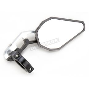 Driven Racing Silver D Axis Bar End Mirror - DXM-SL