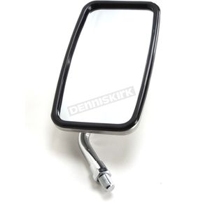 Parts Unlimited Stainless Steel Yamaha Rectangular Mirror - 0640-0973