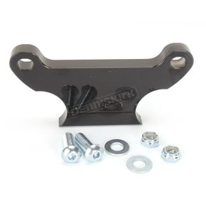 LA Choppers Gloss Black Gauge Mount for 1 1/2 in. T-Bars - LA-7390-02B