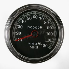 Drag Specialties 2:1 FL-Style Speedometer with 89-95 Face - DS-243845