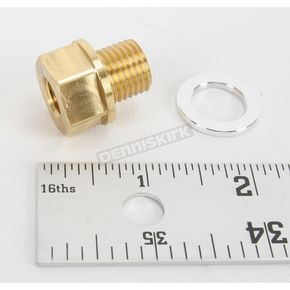 Shindy 14mm x P1.50 Adaptor for Oil Temperature Gauge - 17-854S