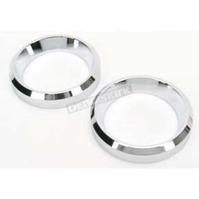 Drag Specialties Small Billet Instrument Gauge Bezels for 2 in. Gauges - 2202-0061