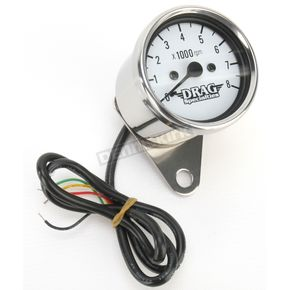 Drag Specialties 2.4 in. Mini Electronic Tachometer - 2211-0103