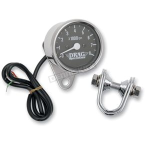 Drag Specialties 2.4 in. Mini Electronic Tachometer - 2211-0104