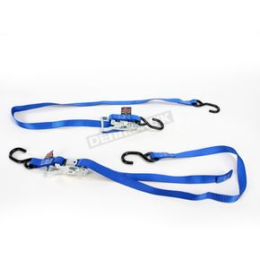 Powertye Blue 1 in. Ratchet Tie-Downs - 32273