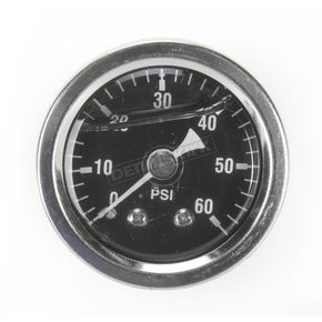 Drag Specialties Chrome Oil Pressure Gauge Kit - 2212-0427