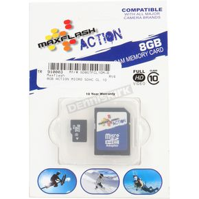 Maxflash Action 8 Gb Micro-SDHC Class 10 Memory Card - 8 GB SDHC MICRO