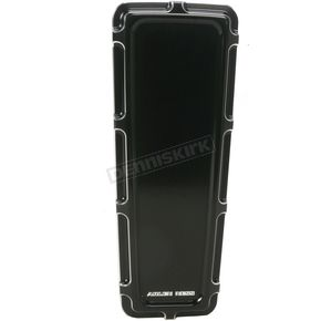 Arlen Ness Black Beveled Dash Insert - 04-143