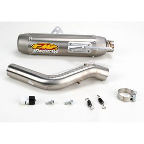 FMF Factory 4.1 Natural Titanium Slip-On w/Stainless Midpipe - 043114