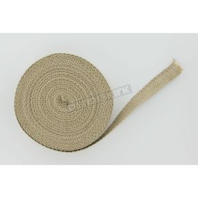 Tan 1 in. x 50 ft. Exhaust Wrap - 1861-0339