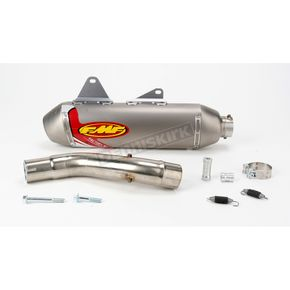 FMF Factory 4.1 Natural Titanium Slip-On w/Stainless Midpipe - 043128