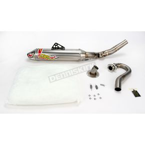 Pro Circuit Ti-4GP Low Boy 4-Stroke Exhaust System - 4Y09250-TI-GP