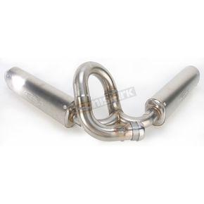 FMF Powercore 4 SA Stainless Steel Spark Arrestor MFLRS w/SS Header - 045283