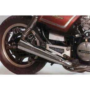 Mac 4-into-1 Chrome Megaphone Exhaust System - 001-1301