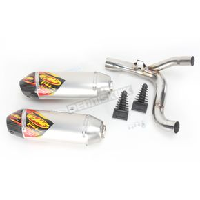 FMF Factory 4.1 RCT Aluminum Slip-On Muffler w/Carbon Fiber End Cap - 041497