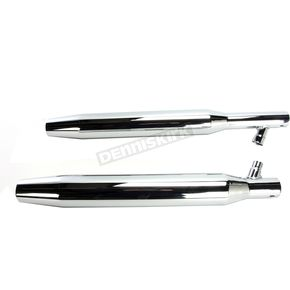 S&S Cycle 3 in. Tapered Slip-On Performance Mufflers - 55-6036