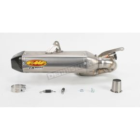 FMF Apex Titanium Slip-On w/Carbon End Cap - 041320