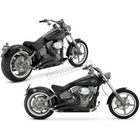 Vance & Hines Black Big Radius Exhaust System - 46043