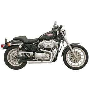 Bassani Chrome Straight-Cut Pro-Street System for Models w/Mid Controls - XL-321M