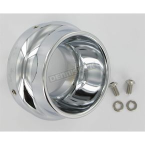 Klock Werks 3 1/2 in. Chrome End Cap for WFB Performance Mufflers - 18600251