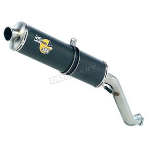 Leo Vince SBK Oval EVO II Slip-On with Carbon Muffler - 6374