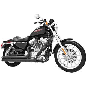 Freedom Performance Black Ceramic Independence Long Exhaust System - HD00115
