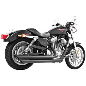 Freedom Performance Black Ceramic Patriot Long Exhaust System - HD00119