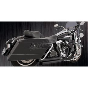 Freedom Performance Black Ceramic Declaration Turn-Out Exhaust System - HD00051