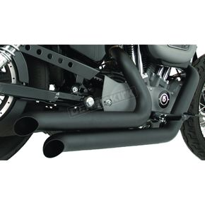 Freedom Performance Black Ceramic Declaration Turn-Out Exhaust System - HD00251