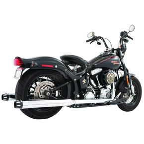 Freedom Performance True Dual 3.5 in. Freedom Signature Series Exhaust System w/Black Tips - HD00142