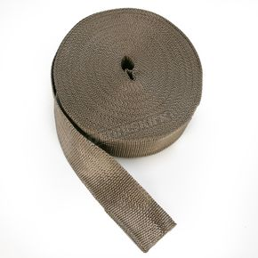 Cycle Performance Metallic 2 in. x 100 ft. Exhaust Pipe Wrap - CPP/9053-100