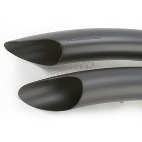 Freedom Performance Black Sharp Curve Radius Exhaust System - HD00255