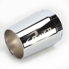 Rush Racing Products 3 in. Tapered Logo Performance Exhaust Tip - 3022-R1