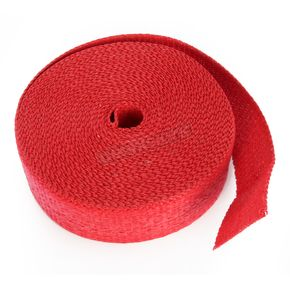 Red 2in. x 50ft. Exhaust Pipe Wrap - CPP/9068-50