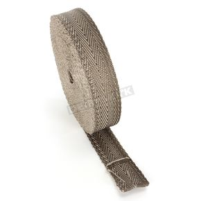 Cycle Performance Natural/Metallic 2 in. X 100 ft. Exhaust Pipe Wrap  - CPP/9065-100