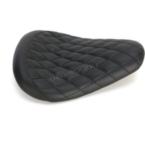 Biltwell Black Diamond Thinline Seat - TS-VIN-00-BD