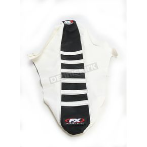 Factory Effex White/Black RS1 Seat Cover - 20-29620