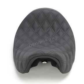 Black  Renegade Lattice-Stitch Solo Seat - 806-04-002LS