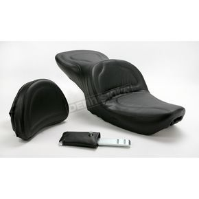 Saddlemen Explorer Seat w/ Driver Backrest - 8952J