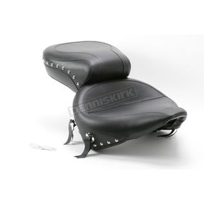 Mustang Seats Wide Vintage Studded Seat - 76047