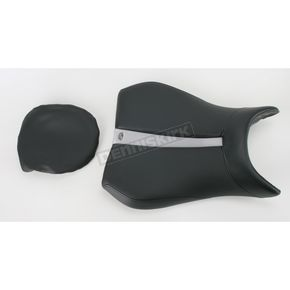 Saddlemen Track One-Piece Solo Seat w/Rear Cover - 0810-0795