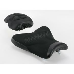 Saddlemen Tech One-Piece Solo Seat with Rear Cover - 0810-0812