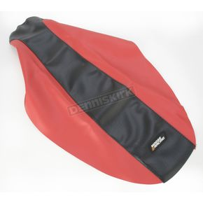 Moose Red/Black Seat Cover - 0821-1194