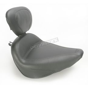 Mustang Seats Vintage Solo Seat w/Driver Backrest - 79712